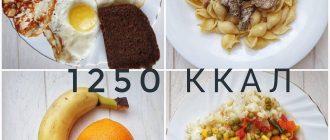 Вкусный полезный рацион на 1250 ккал 🥑🍏🥕🍑