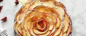 Вкуснейшая полезная запеканка с яблоком и корицей