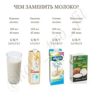 ТОП заменителей коровьего молока